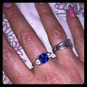 Jewelry - Lab created sapphire ring